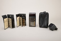 view Texas Instruments Programmable 59 Handheld Electronic Calculator, Case digital asset: Texas Instruments Programmable 59 Handheld Electronic Calculator with Case, Adapter and Software