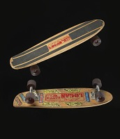 view Laura Thornhill model skateboard used by Laura Thornhill digital asset number 1