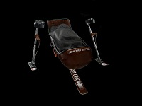 view Mono ski used by the Adaptive Sports Association to teach skiing to disabled athletes digital asset number 1