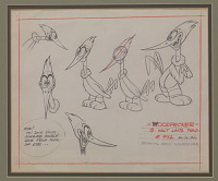 view Model chart of Woody Woodpecker digital asset number 1