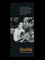 """view """"Verite/Verification in Trade and Export"""" Pamphlet digital asset number 1"""