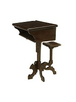 view William Joeckel's 1861 School Desk and Seat Patent Model digital asset number 1