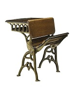 view Sylvanus Cox and William W. Fanning's 1873 School Desk and Seat Patent Model digital asset number 1
