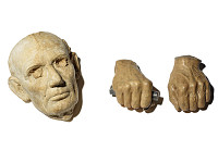 view Casts of Abraham Lincoln's Face and Hands digital asset number 1