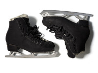 view Figure skates worn by Adam Rippon at the 2018 PyeongChang Olympic Games digital asset number 1