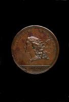 Copper Libertas Americana medal.