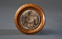 view Wooden George Washington plaque from James Crutchett's Mount Vernon Factory, Washington, D.C., 1852 digital asset number 1