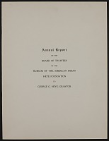view Annual Reports digital asset: Annual Reports: 1917-1920