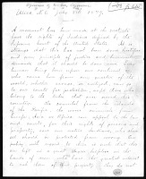 view Ponca Land Dispute: Statements and Petitions digital asset: Ponca Land Dispute: Statements and Petitions: 1879