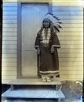 view Matilda Sprinkel glass plate negatives of the Rosebud Reservation digital asset: Representative image