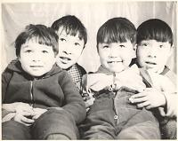view Four boys (Baffinland Inuit) digital asset: P32274