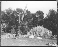 view New York Zoological Society photographs of Tlingit totem pole and house digital asset: New York Zoological Society photographs of Tlingit totem pole and house
