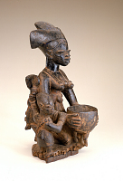 view Female figure with children digital asset number 1