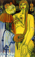 view <I>Nude with flowers</I> digital asset number 1