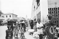 view Street vendors, Lome, Togo digital asset: Street vendors, Lome, Togo