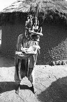 view Wanyugo mask dancer, near Korhogo, Ivory Coast digital asset: Wanyugo mask dancer, near Korhogo, Ivory Coast