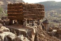 view Togu na meeting house, Dogon region, Mali digital asset: Vernacular architecture