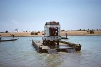 view Ferry, Niger River, Inland Delta region, Niger digital asset: Transportation