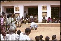 view Man dancing at the royal palace, Abomey, Benin digital asset: Man dancing at the royal palace, Abomey, Benin