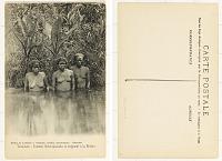 view Tamatave - Femmes Betsimisaraka se baignant à la Rivière digital asset: Tamatave - Femmes Betsimisaraka se baignant à la Rivière