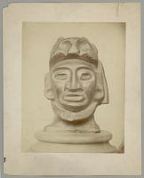 view Head, Stone:Puma Headdress:Found in Cave Near Acapulco, Mexico digital asset: Head, Stone:Puma Headdress:Found in Cave Near Acapulco, Mexico
