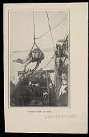 view Group in Costume on Ship; Camel Being Hoisted Aboard n.d digital asset number 1