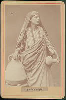 view Egyptian Woman in Costume with Jar and Water Jug 1917 digital asset number 1