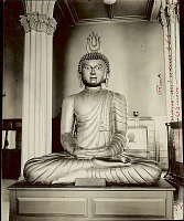 view Ceylonese Wooden Buddha n.d digital asset number 1