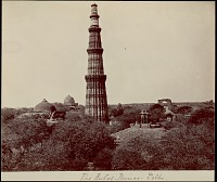 view Qutb Minar 1863 digital asset number 1
