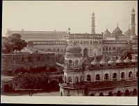 view Great Imambara and Jama Masjid Mosque 1863 digital asset number 1