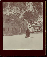 view Woman in Costume, Walking to Cathedral 1896 digital asset number 1