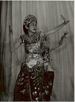 view Two Women in Dance Costume and with Ornaments, in Dance Pose 1956 digital asset number 1