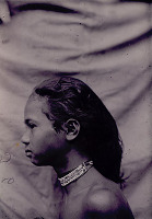 view Portrait of Young Man Wearing Beaded Neckbands (Profile) 1908 digital asset number 1