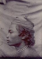 view Portrait of Young Man Wearing Beaded Neck and Headband 1908 digital asset number 1