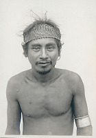 view Portrait of Man with Woven Headband and Metal Arm Bracelet 1936 digital asset number 1