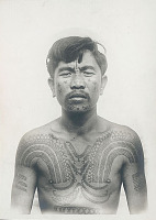 view Portrait of Man with Body Paint 1936 digital asset number 1