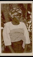 view Portrait of Woman with Face Scarification and in Costume 1930 digital asset number 1