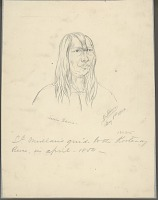 view Portrait of Louis Ramo 01 MAY 1854 Drawing digital asset number 1