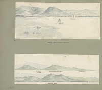 view Views of Apia, Upolu Island and Approaches from Shipboard Painting digital asset: Views of Apia, Upolu Island and Approaches from Shipboard Painting