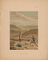 "view ""Burial Place of Togiagamute"" n.d. Lithograph/Photomechanical digital asset number 1"