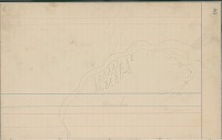 view Anonymous Arapaho drawing of map with tipi camp and figure of woman digital asset: Anonymous Arapaho drawing of map with tipi camp and figure of woman
