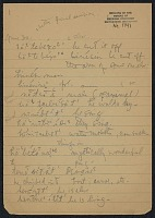 view MS 1791 Notes on Southern Arapaho linguistics, ethnology, and mythology from Jesse Rowlodge digital asset: Notes on Southern Arapaho linguistics, ethnology, and mythology from Jesse Rowlodge