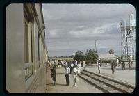 view Tanganyika RR stop, Europeanized man, circa 1956 digital asset number 1