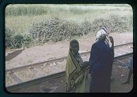 view Tanganyika RR stop, Islamized female, circa 1956 digital asset number 1