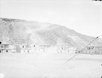 view View of Adobe House Cluster From Southeast Side of Plaza 1899 digital asset number 1