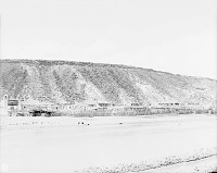 view View From Southeast Bank of River of Pueblo, Corrals, and Beehive Ovens 1899 digital asset number 1