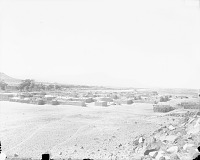 view View From the Southwest of Pueblo, Corrals, and Beehive Ovens 1899 digital asset number 1