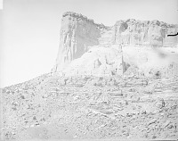 view View of Pueblo Ruins at Southwest Base of Taaaiyalna or Taaiyalone Mountain, One of the Seven Cities of Cibola 1886 digital asset number 1