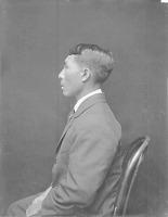 view [Portrait (Profile) of Niga (Felipe)] October 1924 digital asset number 1