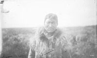 view Man from Seward Peninsula Village in Native Dress 1877 digital asset number 1